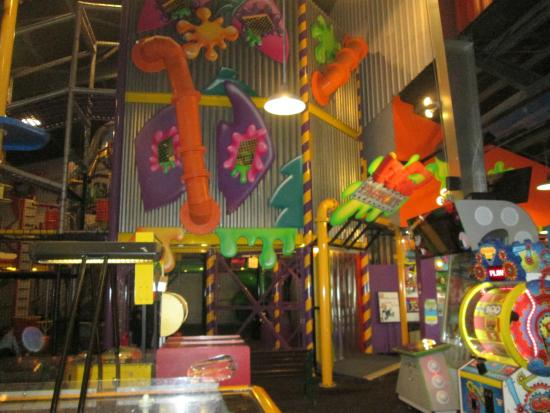 Wow Factory Climbing Structure And Foam Balls Picture Of