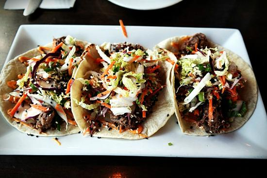 Korean Short Rib Soft Tacos - Picture of Union Social Eatery ...