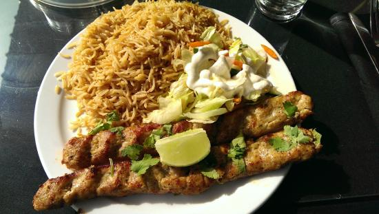 Chicken kabobs picture of afghan cuisine renton for Afghan cuisine renton