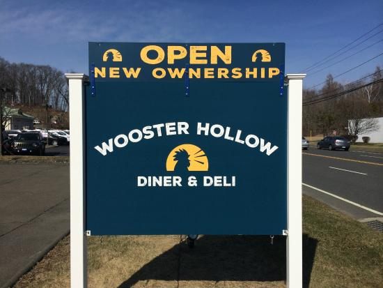 Wooster hollow sign picture of wooster hollow diner for Pamby motors ridgefield ct
