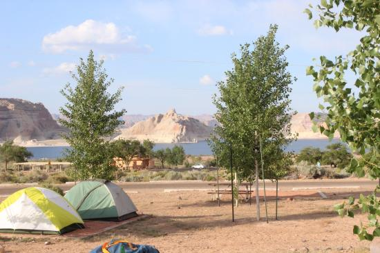View Of Lake Powell From Wahweap Rv Park Picture Of