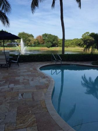 Inn at Pelican Bay: Peaceful by the pool