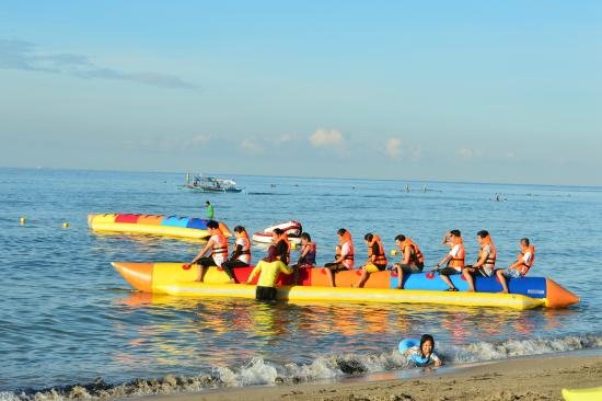 Pool Beach Area Picture Of Morong Star Beach Resort And