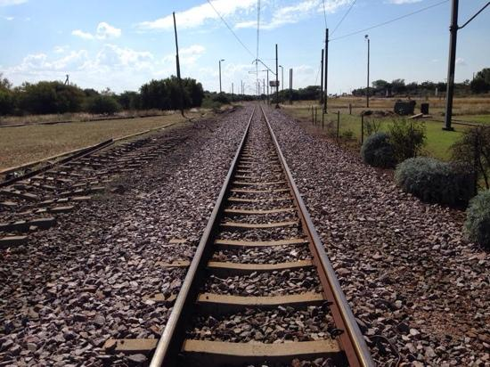 Beestekraal South Africa  city photos : railway line next to the beestekraal stasie Picture of Brits, North ...