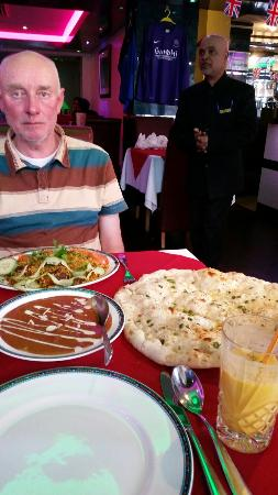 Castle Donington, UK: The best Indian food you'll ever eat!