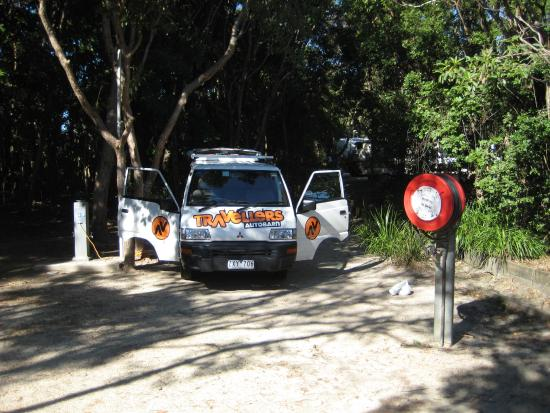 North Coast Holiday Parks Clarkes Beach: Our site