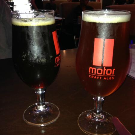 Brews Picture Of Motor Burger Windsor Tripadvisor