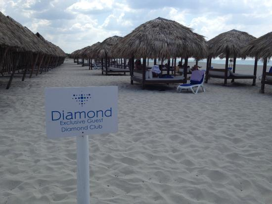 Diamond Club Area On The Beach Very Nice Picture Of