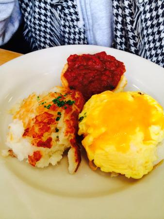 Clinton St. Baking Company & Restaurant Photo: Biscuits, hash, tomato ...