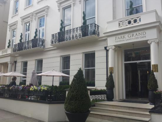 our temporary home picture of park grand london. Black Bedroom Furniture Sets. Home Design Ideas
