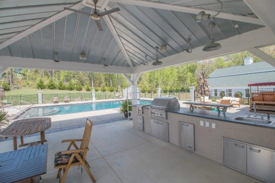 Pool Grill Area