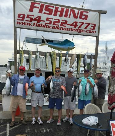 Success picture of fish local knowledge fort lauderdale for Local knowledge fishing
