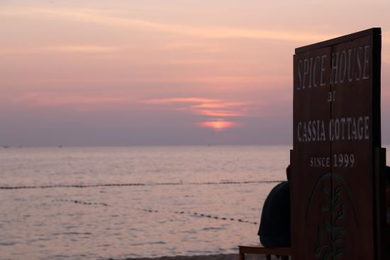 Cassia Cottage - The Spice House: nice sunset