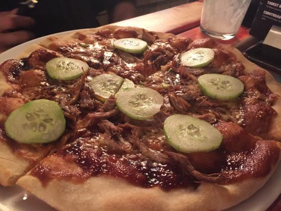 Best Pizza Ever! - Suede Bar, Nottingham Traveller Reviews ...