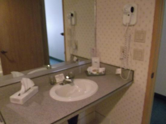Ada Bathroom Sink With Roll Under Counter Top Picture