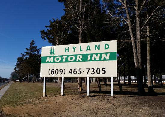 Parking Area Picture Of Hyland Motor Inn Cape May Court