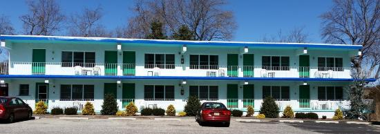 Two Story Building Picture Of Hyland Motor Inn Cape May