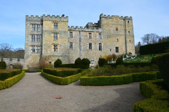 Chillingham Castle: View from the gardens