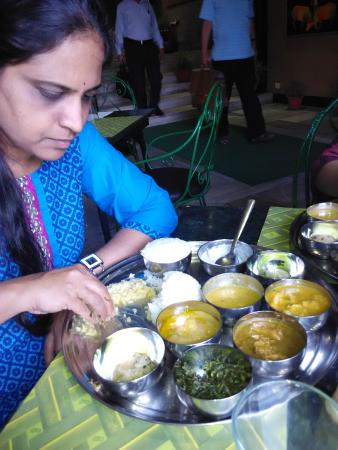The non vegetarian assamese thali picture of paradise for Assamese cuisine in bangalore