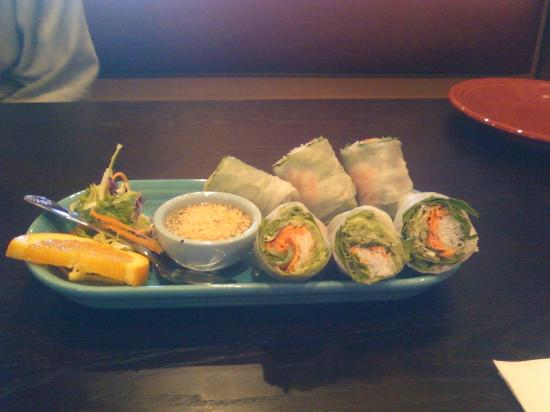 Fresh spring roll appetizer picture of ayothaya thai for Ayothaya thai cuisine puyallup wa