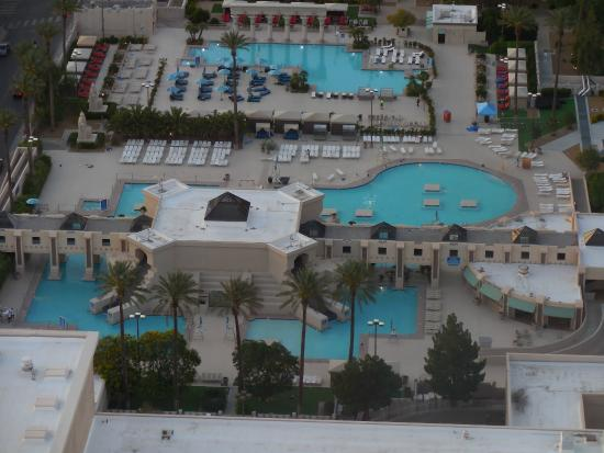 Pool View From Mix Lounge  Picture Of Delano Las Vegas
