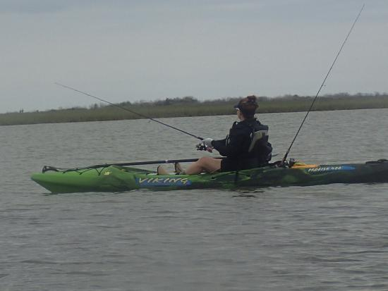 Kayak fishing in rockport texas picture of rockport for Fishing guides rockport tx