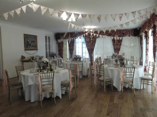 wedding set up picture of norton house hotel
