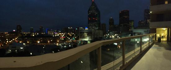 My family 39 s 18th floor balcony view this weekend for 18th floor balcony video
