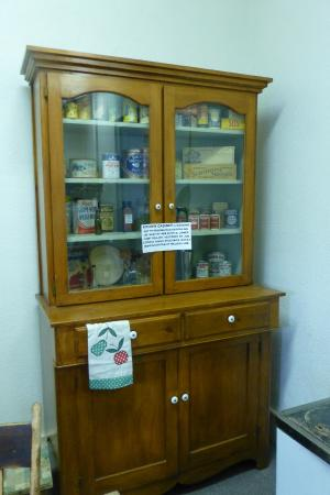 Old cabinet in Panaca Heritage Center