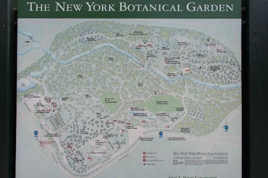 Map of botanical gardens bronx nyc picture of bronx - Restaurants near bronx botanical garden ...