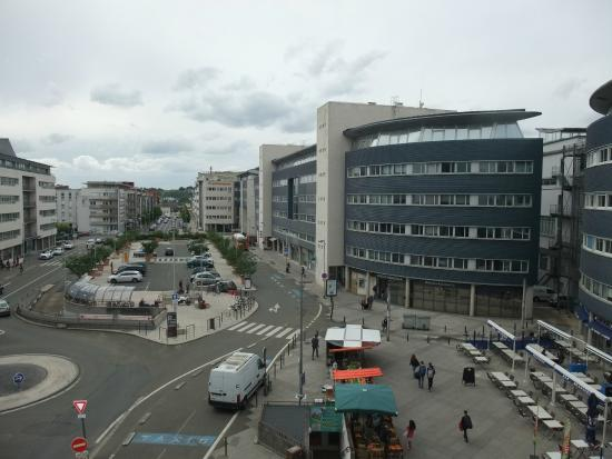 View from the room picture of ibis styles le mans gare - Location voiture le mans gare ...