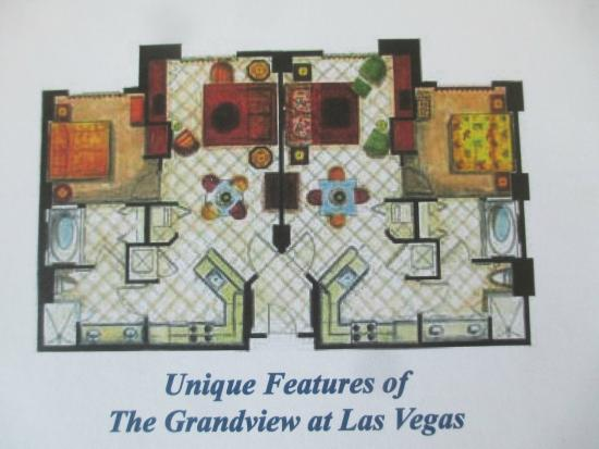Room Layouts At The Grandview Resort Picture Of