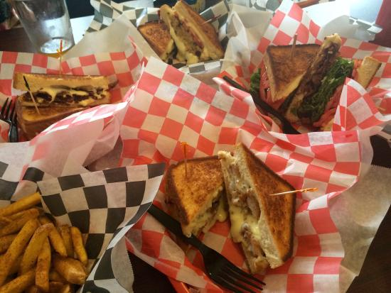grilled cheese and crab cake company