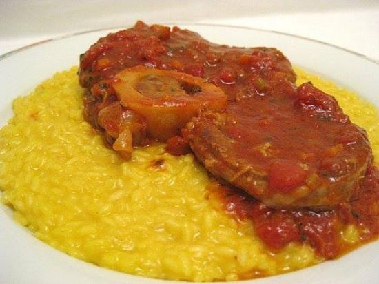 Ossobuco con risotto alla milanese picture of for Best risotto in milan