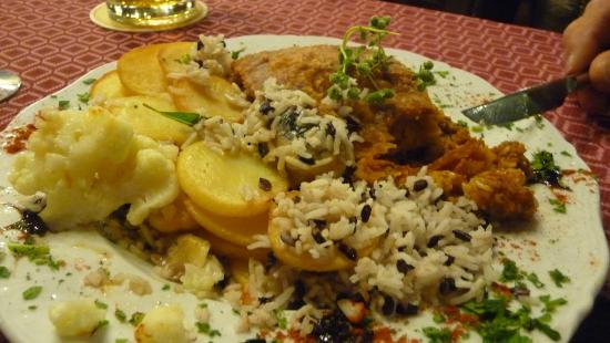 chicken with veg ,,mushroom sauce - Picture of Butler's ...