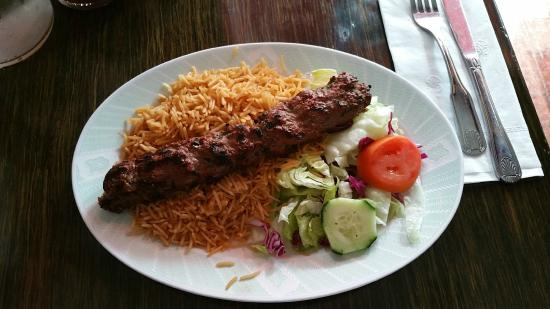 Lamb kabob luncheon entree picture of ariana afghan for Ariana afghan cuisine