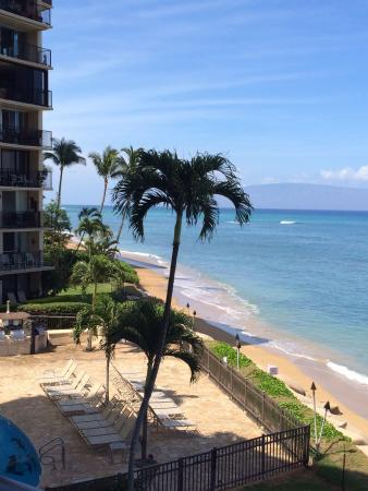 Hololani Resort: View to South from A304 lanai