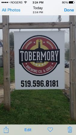 Tobermory Brewing Company and Grill