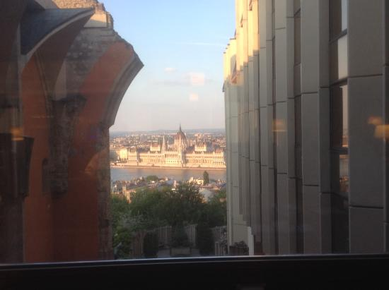 View From Executive Lounge Picture Of Hilton Budapest Castle District Budapest Tripadvisor