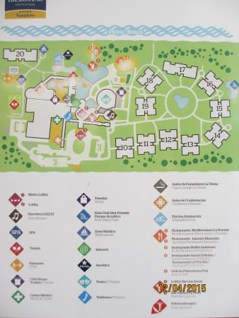 Resort Map Picture Of Iberostar Varadero Varadero