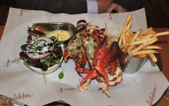 Whole grilled Lobster - GOOOD! - Picture of Burger & Lobster - Soho ...