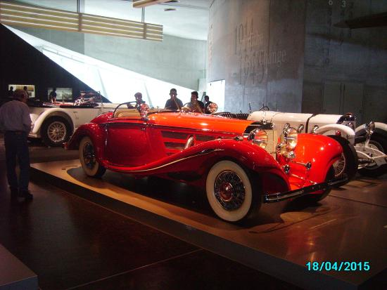 Early mercedes sportscar picture of mercedes benz museum for Mercedes benz rental pittsburgh