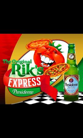 The original Rik's pizza