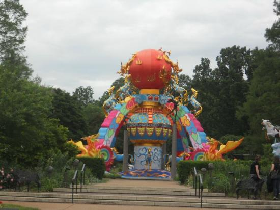 Exhibit for chinese lantern festival picture of missouri Missouri botanical garden lantern festival