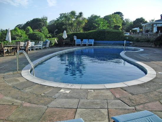 View From The Pool Picture Of Sidmouth Harbour Hotel The Westcliff Sidmouth Tripadvisor