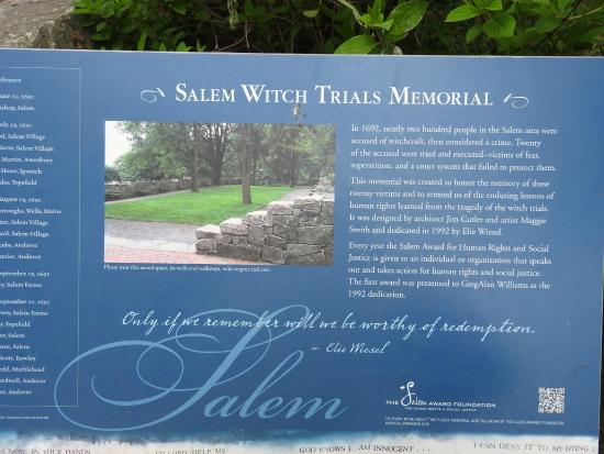 salem witch trials and thesis statement