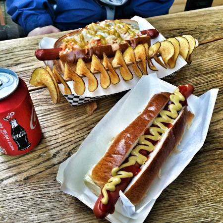 Hot Dog And Cold Beer Budapest