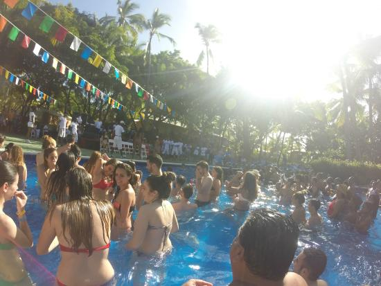 Dominican Pool Party Barcelo Dominican Beach Pool