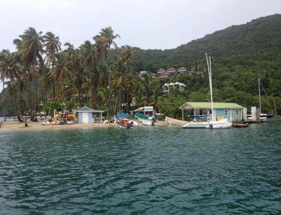 The Landings St. Lucia: The beautiful scenery at the Landings