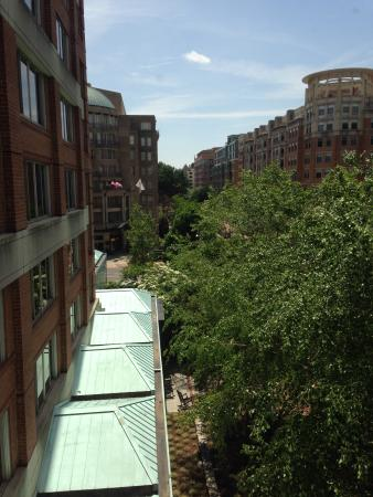 View from room picture of park hyatt washington for 1201 salon dc reviews